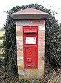 Victorian post box at Black Hill crossroads - geograph.org.uk - 1706448.jpg