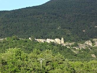 Beynes, Alpes-de-Haute-Provence - The old village of Beynes
