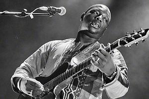 Vieux Farka Touré - Touré at a concert in Oslo in 2016