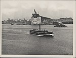View from the northern approach of Sydney Harbour Bridge, 1928 (8283769308).jpg