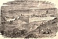 View of Jerusalem. Rawson, A.L. Map of Palestine and all Bible lands. 1873.jpg