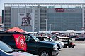 View of Levi's Stadium from parking lot.jpg