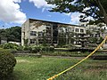 View of exploding site in Hakozaki Campus of Kyushu University 1.jpg
