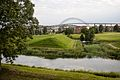View of the Fredrikstad bridge from the fortress.jpg