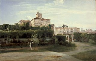 View of the Quirinal Palace, Rome