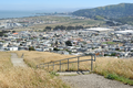 View southeast from knoll at Visitacion and Mansell in McLaren Park in San Francisco.png