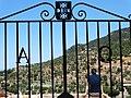 View through Cemetery Gate - Deia - Mallorca - Spain (14540831323).jpg