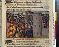 Vigiles de Charles VII, fol. 222, Entrée de Gaston IV de Foix à Bayonne.jpg