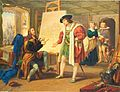 Vilem Kandler - Maxmilian I. v Durerove atelieru (1841).jpg