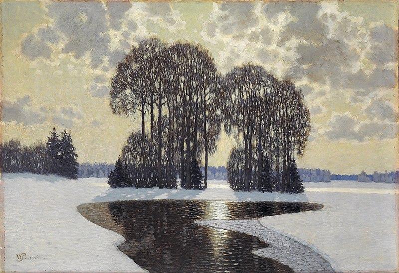 File:Vilhelms Purvītis - Winter - Google Art Project.jpg