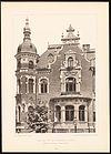 Villa Karl Tauchnitzstrasse 45, Leipzig, Detail, Architekt H. Rossbach, Baurat, Tafel 42, Kick Jahrgang II.jpg