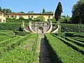 Villa schifanoia, giardino, seconda terrazza inferiore 02.JPG