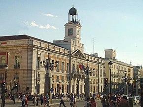Real Casa De Correos Wikipedia La Enciclopedia Libre