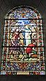 """Vitrail """"Sainte Geneviève réconfortant les parisiens 1920"""" Charles Lorin église Saint-Pierre-et-Saint-Paul Nogent-le-Phaye Eure-et-Loir France.jpg"""