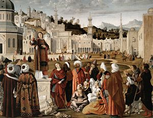 Vittore carpaccio, Sermon of St Stephen.jpg