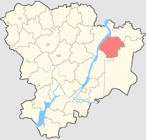 Nikolayevsky District, Volgograd Oblast - Image: Volgogradskaya oblast Nikolaevsky rayon