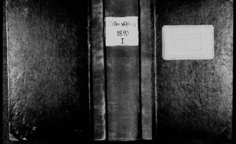 File:Volkszählung in der Stadt Minden, 1890, Band 1.djvu