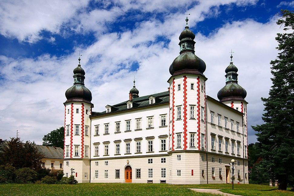 Vrchlabí, zámek (městský úřad)