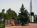 Vyksa. Monuments to Soldiers who perished in local wars and in WWII.jpg