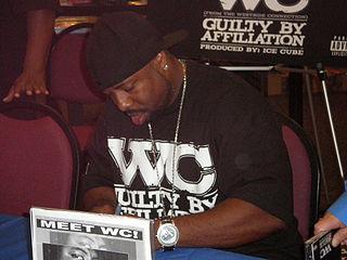 WC (rapper) American rapper