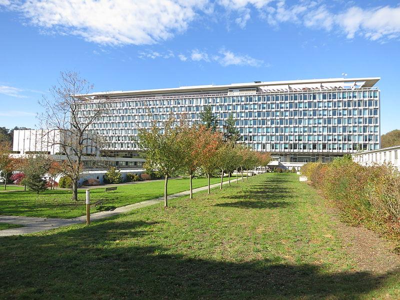 WHO HQ main building, Geneva from South.JPG