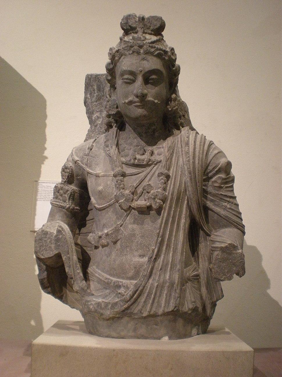 WLA vanda Pakistan Kusana Dynasty Bodhisattva Maitreya
