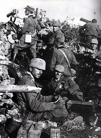 Second Battle of the Isonzo - 20th Cavalleggeri di Roma Cavalry Regiment during the Second Battle of the Isonzo
