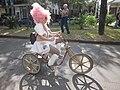 WWOZ 30th Birthday Parade Esplanade Avenue Art Bike Oyster.JPG