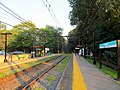 Waban station facing inbound, September 2015.JPG