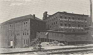 Wagner Manufacturing Company - Wagner Manufacturing plant in Sidney, Ohio (1913)