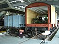 Wagons, Locomotion Shildon, 28 April 2010.JPG