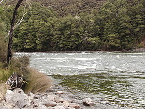 Waiau River (Southland) - Shallows on the Waiau River