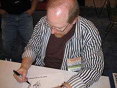 Waid drawing The Flash symbol.jpg