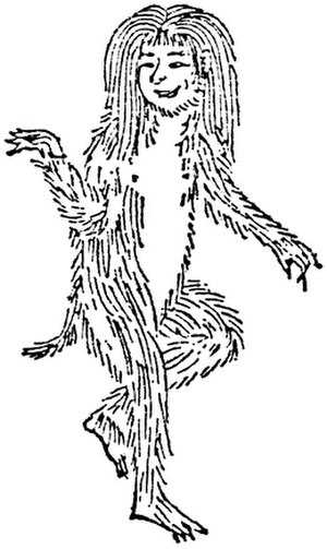 Monkeys in Chinese culture - A shōjō illustration from the 1712 Wakan Sansai Zue