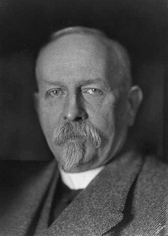 Waldemar Christofer Brøgger (geologist) - Brøgger in 1922