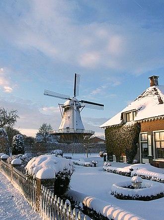 Ede, Netherlands - Walderveen Windmill