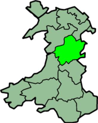 Montgomeryshire - Image: Wales Montgomeryshire Trad