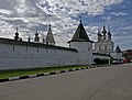 Wall of Michael Archangel Monastery Yuryev Polsky.jpg