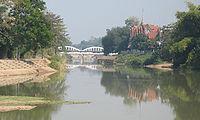Wang River in Amphoe Mueang Lampang.jpg