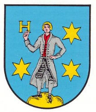 Rhein-Pfalz-Kreis - Image: Wappen gd hessheim