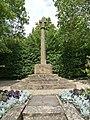 War Memorial - Preston Plucknett - geograph.org.uk - 2496821.jpg