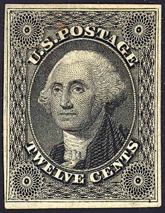 Washington 1851 Issue-12c