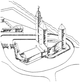 Burg Erffa (um 1685)