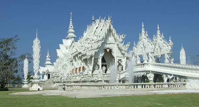 see: White Temple in Chiang Rai, Thailand