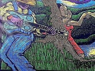 Waterfront Blues Festival - Blues Festival poster