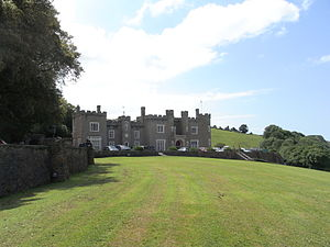 Watermouth Castle - Image: Watermouth Castle Entrance Front