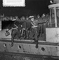 Watersnood 1953. Evacuatie Zierikzee aankomst Dordrecht, Bestanddeelnr 905-5508.jpg