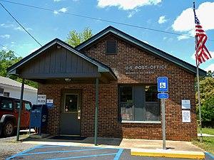 Waverly, Alabama - Image: Waverly, AL Post Office (36879)