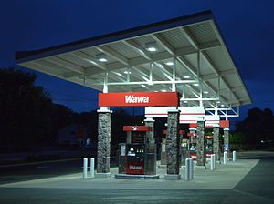 Wawa Inc. - Wawa gas station in Skippack, Pennsylvania