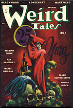 Weird Tales cover image for March 1948